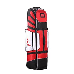 Woodworm Golf Deluxe Travel Cover : Red