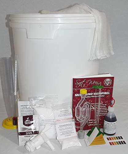 Wein selber machen, Startset mit 33 Liter Gärbehälter