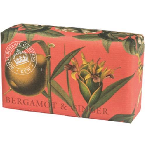 KEW Vintage Verpackt Seife-Luxus Duft Bad Seife-Vintage Bergamotte & Ginger Bath Seife 240g -