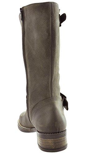 JJ Footwear, Stivali donna Espresso Grain Nubuck