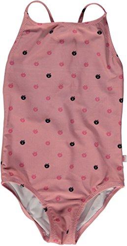 Smafolk Mädchen Badeanzug mit kleinen Äpfeln (146/152) -