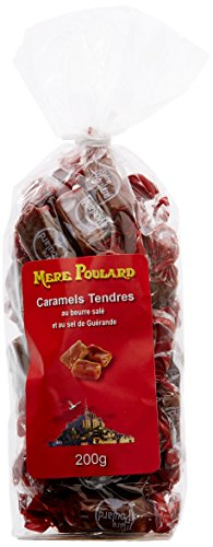 Biscuiterie Mère Poulard Sachet Caramels Tendres 200 g