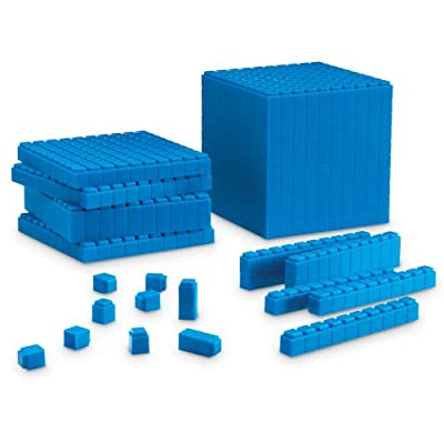 Learning Resources Base Ten Interlocking Plastic Rods Starter Set from Learning Resources
