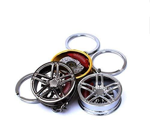 1 anneau en alu porte clef Mini-cooper anneau anodisé couleur rouge