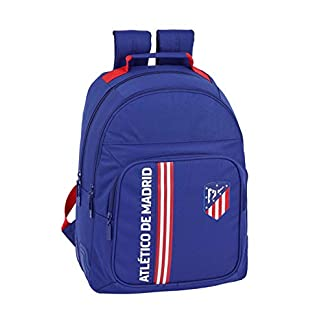 Atlético de Madrid «In Blue» Oficial Mochila Escolar 320x150x420mm