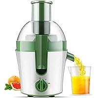 Lndixy Exprimidor máquina de Jugo de Frutas Enteras with75mm tolva de alimentación, Extractor de Jugo
