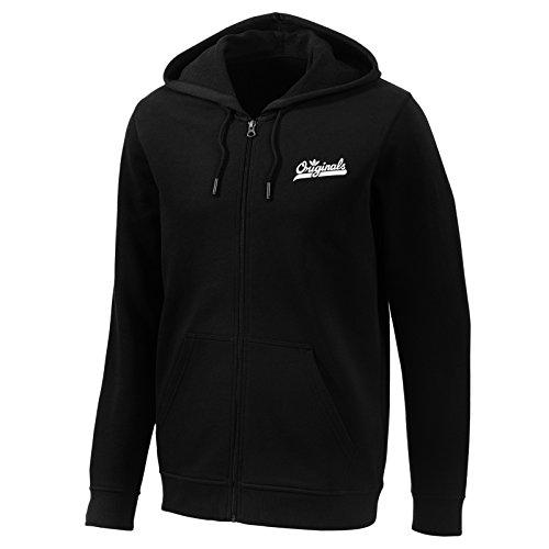 Adidas Originals Graphic Full Zip Hoodie Sweater Kapuzenpullover schwarz, Größe:XS Graphic Full Zip Hoodie