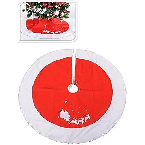 Funda pie árbol Navidad 120 cm - Única
