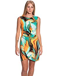 0f3b4b8f53f5 Abbino J493 Vestiti Donne Ragazze - Made in Italy - Multiplo Colori - Mezza  Stagione Primavera Estate Autunno Uni Signore Vestiti…