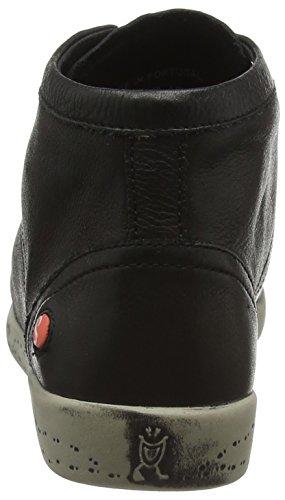 Softinos Isleen Smooth, Baskets Basses Femme Noir - Schwarz (Black 025)