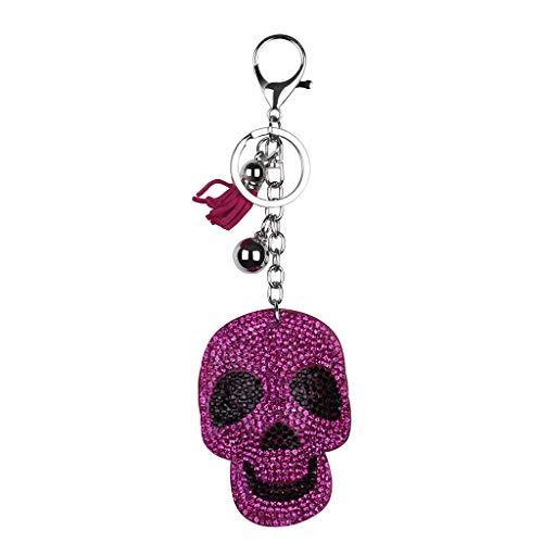 Kostüm Hexe Diamant - TeasyDay Lernspielzeug Hand - Halloween Schädel Schlüsselanhänger, 5D Diamant Horror Schädel Spielzeug, DIY Dekorationen Schlüsselanhänger Anhänger Geschenk