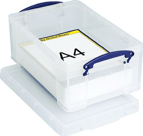 Really Useful Products Box/9C 255x395x155 mm Transparent PP 900 g Inh.9 Liter