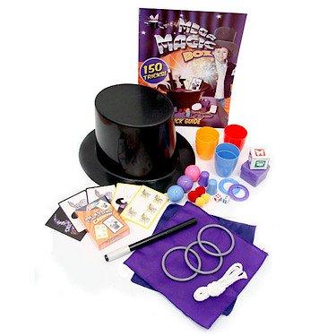 Grafix - mega cappello magico con 150 giochi di prestigio