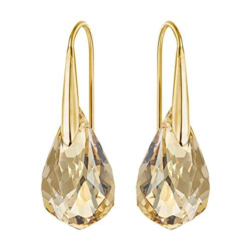 Swarovski Orecchini Energic, Dorato, placcatura oro