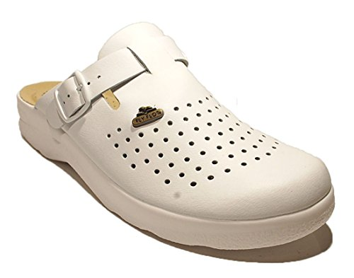 Fly Flot , Chaussons pour homme Blanc Bianco 42 Blanc - Bianco