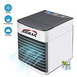 shkax Mini Air Luftkühler Neu 2019 USB Mobile Klimageräte Kalte Klimaanlage Kompakter und Tragbarer Persönlicher Raum Air Cooler für Büro Hotel Küche