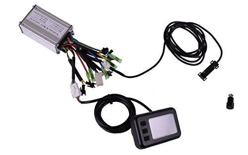 36V 12A Controller Set mit Display und Tacho für Pedelec, Elektrofahrrad, E-Bike