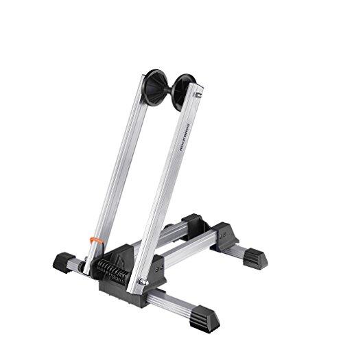 ROCKBROS Fahrrad Ständer Hinterradständer Ausstellungsständer Fahrradhalter Faltbar aus Aluminium (Weiß (Lack spritzt))