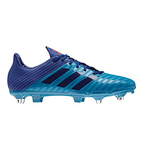 adidas Malice Sg, Chaussures de Rugby Homme Turquoise (Mystery Petrol /noble Ink /blaze Orange )