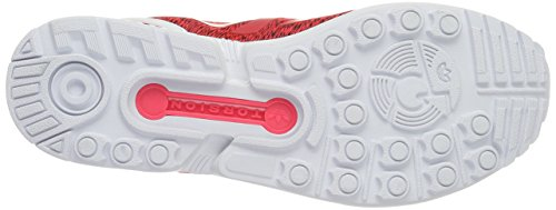 Core Scarpe Unisex Flux White Shored Adulto Black adidas Rosso da Ftwr Corsa ZX wg8q8X