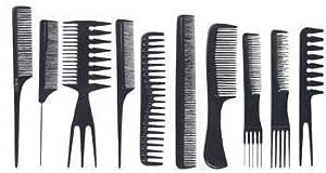 SHANY professional Comb set -10pcs - premium quality