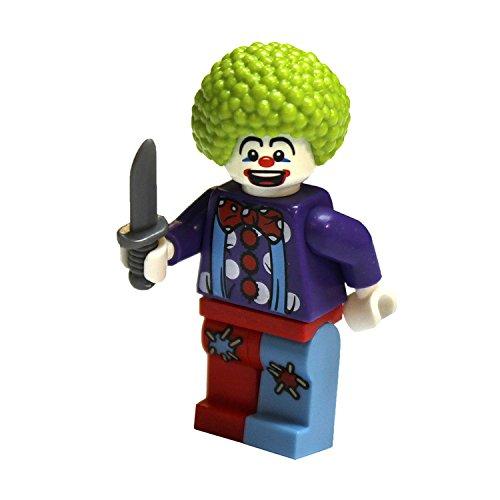 LEGO City - Minifigur Clown mit Messer Geburtstag Party
