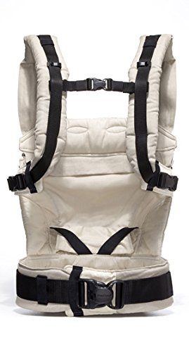 manduca First Baby Carrier > HempCotton Sand < Ergonomic Baby Carrier, Soft & Sturdy Canvas (Organic Cotton & Hemp), Front Carry, Hip Seat and Back Carry, from Newborn to Toddlers up to 20kg, Beige Manduca New features: Improved three-point-buckle (secure & easy to open); extra soft canvas made of 45% hemp and 55% organic cotton (outside), 100% organic cotton lining (inside) Already integrated in every baby carrier: infant pouch (newborn insert), stowable headrest & sun protection for your baby, patented back extension (grows with your child); Optional accessories for newborns: Size-It (seat reducer) and Zip-In Ellipse Ergonomic design for men & women: Soft padded shoulder straps (multiple adjustable) & anatomically shaped stable hipbelt (fits hips from 64cm to 140cm) ensure balanced weight distribution. No waist-belt extension needed 12