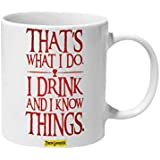 Mooch Wale I Drink And I Know Things Tyrion Game Of Thrones Ceramic Mug