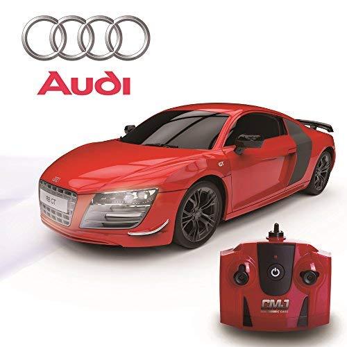 ferngesteuertes auto audi Audi R8 GT, Fernbedienung/Ferngesteuert Modell Auto. 1:24 Skala. In Matt Schwarz/weiß und rot - Rot