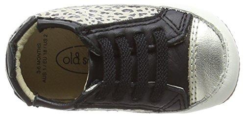 Old Soles  Bambini Jogger, Chaussures Premiers pas Pour bébé / fille Multicolore - Multicolor (Cat/Gold/Black)