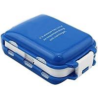 Portable 8 Slots Dichtung Falten Pille Fällen Schmuck Süßigkeiten Box Aufbewahrungsbox Vitamin Medizin Pille Box... preisvergleich bei billige-tabletten.eu