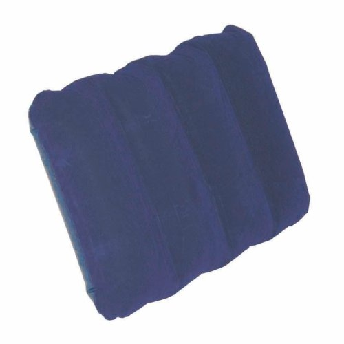 41hSNoLEqZL. SS500  - Highlander Lightweight Unisex Outdoor Sleepeze Air Pillow available in Blue -