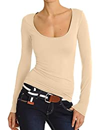 Bestyledberlin Damen Shirt, Bluse, Longsleeve, Top t30p