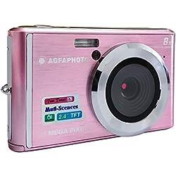 AGFA Photo - Appareil Photo Numérique Compact Cam DC5200-Rose