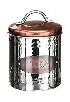 Apollo Boîte à thé, acier inoxydable, cuivre/argent