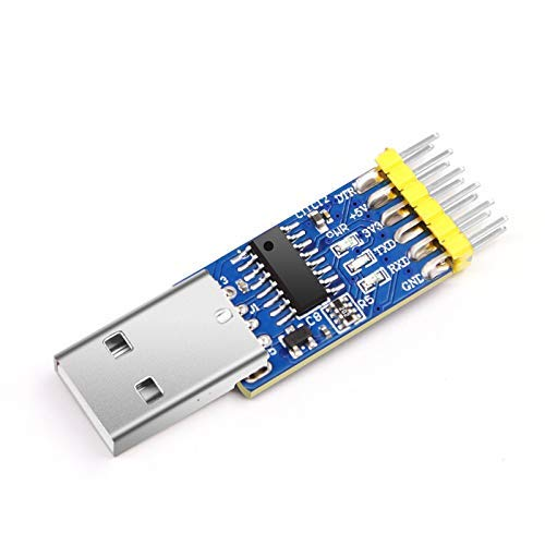 USB-UART Konverter 3-in-1(USB zu TTL/USB zu RS232 / USB zu RS485) (USB-RS232 USB-RS485 USB-TTL) Serieller 3.3-5V Adapter mit CH340 Chip Kompatibel mit Windows 7,8, Linux, Arduino (Adapter Usb-uart)