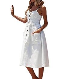 Amazon.it  Scarpe Bianche Cerimonia - Vestiti   Donna  Abbigliamento 8092b390416