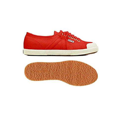 Superga 2750- AEREX CENTURY, Sneaker unisex adulto Red