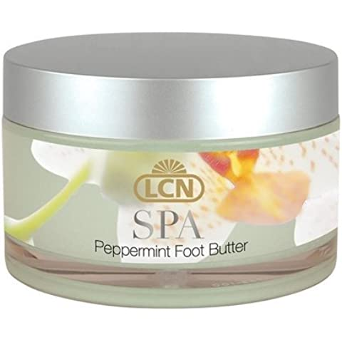 LCN Spa Peppermint Foot Butter For Extremely Dry Feet 100ml