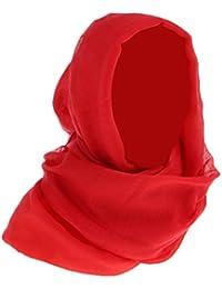 non-brand Sharplace Pañuelo Musulmán Bufanda de Cabeza Chal de Casquillo Árabes Elástico