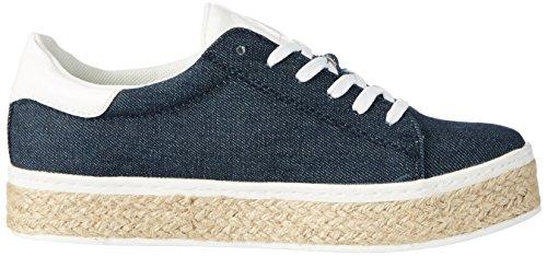 s.Oliver 23626, Sneakers Basses Femme Bleu (DENIM 802)