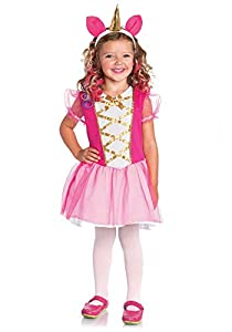 Wonderland- Niñas, Color Rosa, X-Small (3T-4T). 98-104 cm de Altura. (Leg Avenue Inc. 8402981034548)