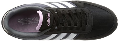 adidas  City Racer W, chaussures de sport femme Cblack/Ftwwht/Lgtorc