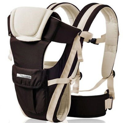 eMarkooz(TM) Newborn Carrier Front and Back Baby Infant Comfort Backpack