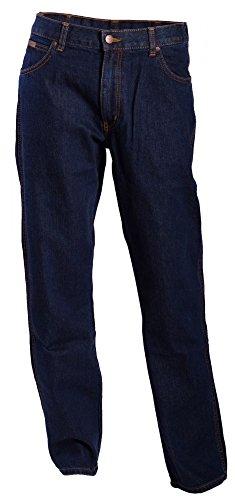 Wrangler Jeans Texas, Herren, W44 / L34, Dunkler Stein -