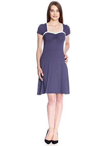Vive Maria My Navy Dress, Abbigliamento Casual Donna Blau (navy allover)