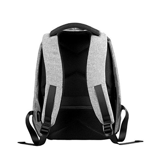 Art Und Weisebeutel Multifunktionsmänner Schulterbeutel Oxford Tuch-Computerbeutel-Spielraumbeutel Grey