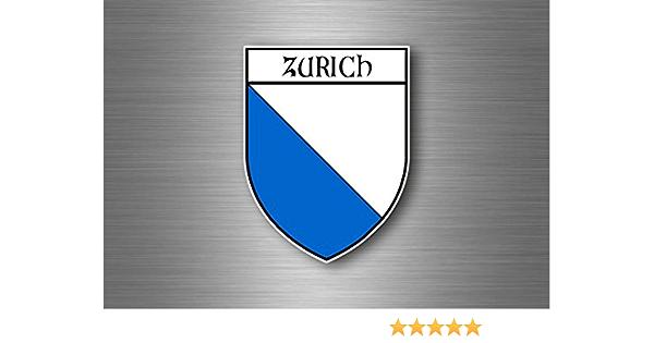 Akacha Aufkleber Sticker Autoaufkleber Wappen Schild Flagge Schweiz Zurich Auto