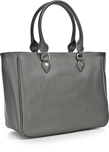 LIU JO CORALLO SHOPPING BAG N66226E0140 90011 Gun metal