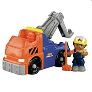 fisher price n0482 little people camion de remorquage jeux et jouets. Black Bedroom Furniture Sets. Home Design Ideas